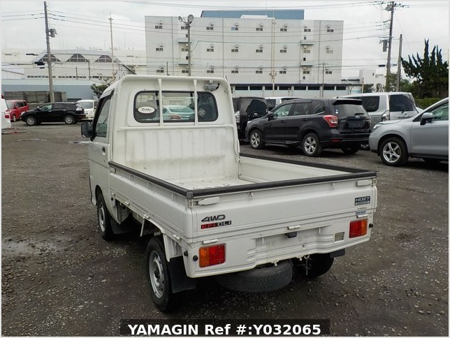 It is a picture of the white daihatsu hijet truck in 1999,Sub Photo 3 Stock No.Y032065