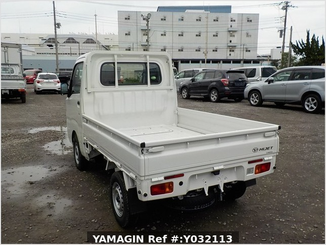 It is a picture of the white daihatsu hijet truck in 2019,Sub Photo 3 Stock No.Y032113