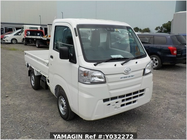 It is a picture of the white daihatsu hijet truck in 2020,Sub Photo 0 Stock No.Y032272