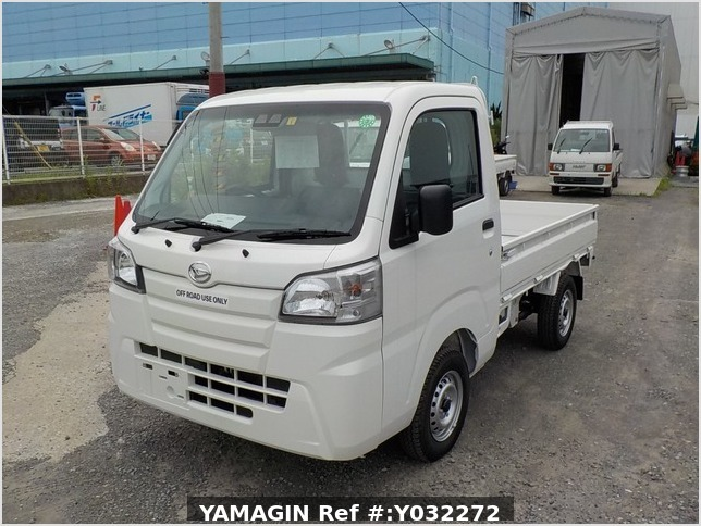 It is a picture of the white daihatsu hijet truck in 2020,Sub Photo 1 Stock No.Y032272
