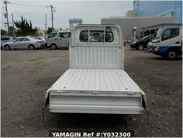 It is a picture of the white mitsubishi minicab truck in 2003,Sub Photo 4 Stock No.Y032300
