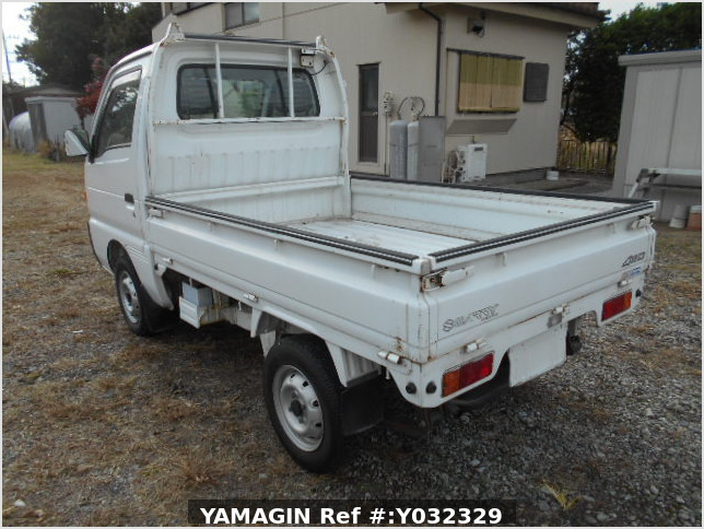 It is a picture of the white suzuki carry truck in 1996,Sub Photo 3 Stock No.Y032329