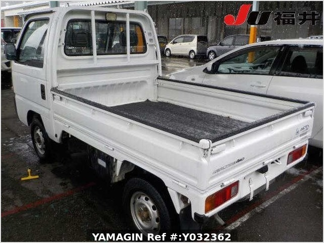 It is a picture of the white honda acty truck in 1996,Sub Photo 30 Stock No.Y032362