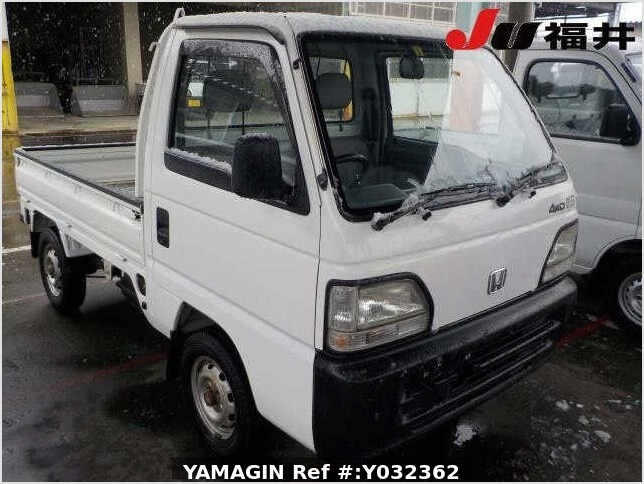 It is a picture of the white honda acty truck in 1996,Sub Photo 29 Stock No.Y032362