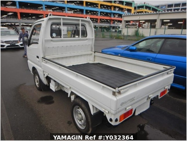 It is a picture of the white suzuki carry truck in 1994,Sub Photo 2 Stock No.Y032364