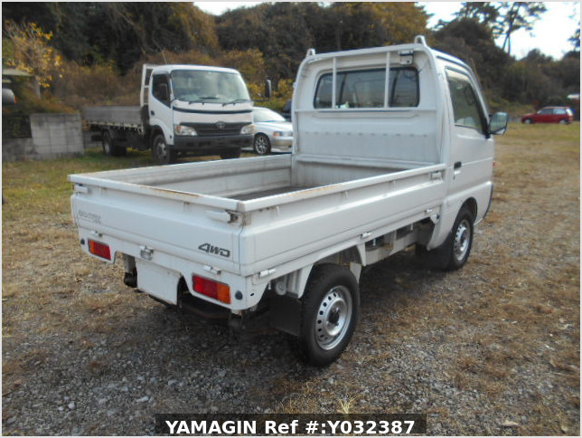 It is a picture of the white suzuki carry truck in 1996,Sub Photo 2 Stock No.Y038110