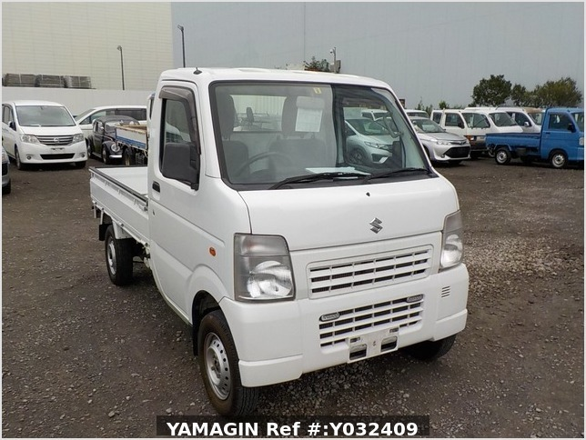 It is a picture of the white suzuki carry truck in 2012,Sub Photo 0 Stock No.Y032409