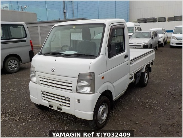 It is a picture of the white suzuki carry truck in 2012,Sub Photo 1 Stock No.Y032409