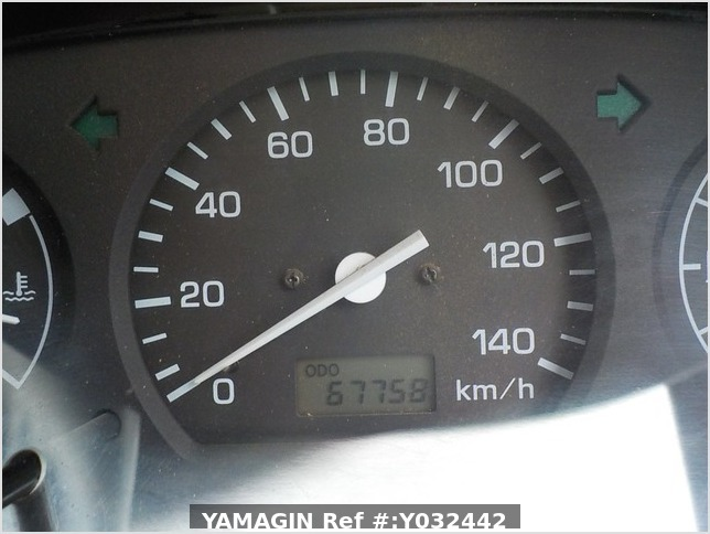 It is a picture of the blue daihatsu hijet dump in 2004,Sub Photo 9 Stock No.Y032442