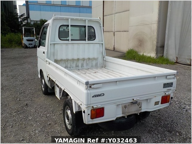 It is a picture of the white daihatsu hijet truck in 1998,Sub Photo 2 Stock No.Y032463