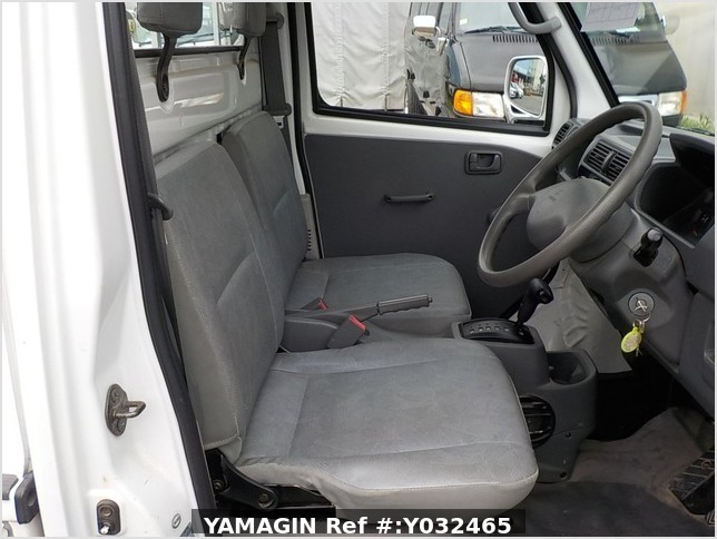 It is a picture of the white mitsubishi minicab truck in 2004,Sub Photo 9 Stock No.Y032465