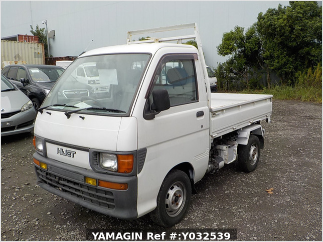 It is a picture of the white daihatsu hijet scissors dump in 1996,Sub Photo 2 Stock No.Y032539