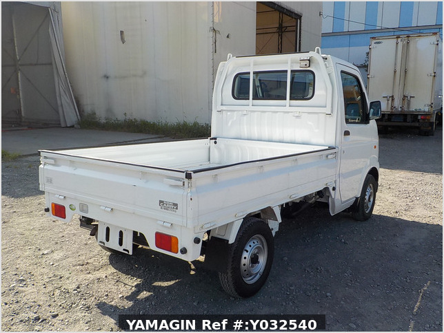 It is a picture of the white suzuki carry  truck in 2010,Sub Photo 2 Stock No.Y032540