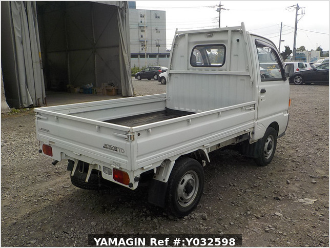It is a picture of the white mitsubishi minicab truck in 1995,Sub Photo 4 Stock No.Y032598