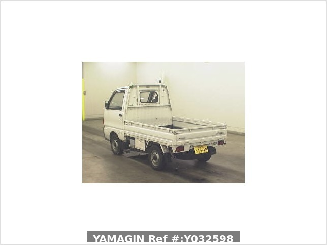 It is a picture of the white mitsubishi minicab truck in 1995,Sub Photo 14 Stock No.Y032598