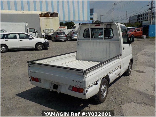 It is a picture of the white mitsubishi minicab truck in 1999,Sub Photo 2 Stock No.Y032601