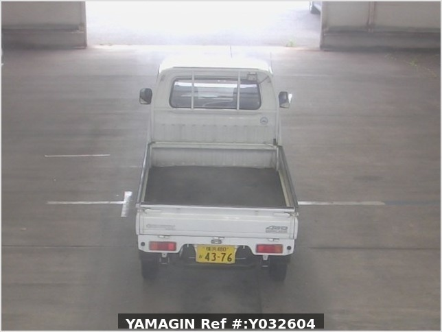 It is a picture of the bronze suzuki carry truck in 1994,Sub Photo 2 Stock No.Y032604