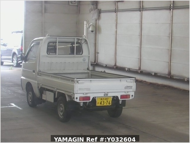 It is a picture of the bronze suzuki carry truck in 1994,Sub Photo 1 Stock No.Y032604
