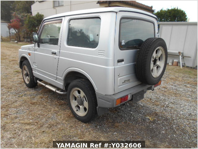 It is a picture of the silver suzuki jimny in 1996,Sub Photo 3 Stock No.Y032606