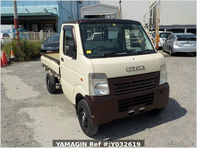 It is a picture of the beige  suzuki carry dump in 2004,Sub Photo 1 Stock No.Y032619