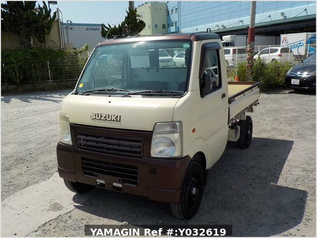 It is a picture of the beige  suzuki carry dump in 2004,Sub Photo 2 Stock No.Y032619