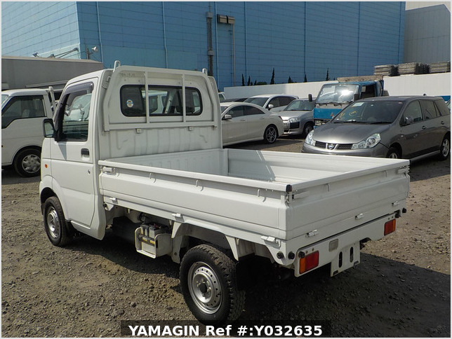 It is a picture of the white suzuki carry dump in 2006,Sub Photo 4 Stock No.Y032635