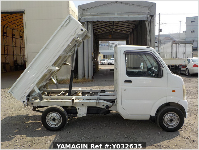 It is a picture of the white suzuki carry dump in 2006,Sub Photo 0 Stock No.Y032635