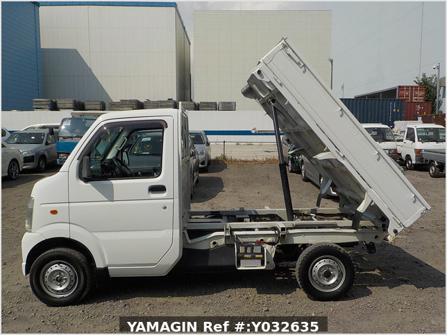 It is a picture of the white suzuki carry dump in 2006,Sub Photo 6 Stock No.Y032635