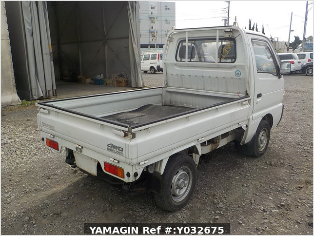 It is a picture of the white suzuki carry truck in 1992,Sub Photo 7 Stock No.Y032675