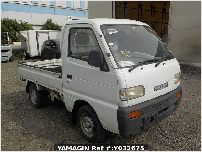 It is a picture of the white suzuki carry truck in 1992,Sub Photo 6 Stock No.Y032675
