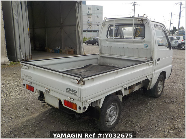 It is a picture of the white suzuki carry truck in 1992,Sub Photo 10 Stock No.Y032675