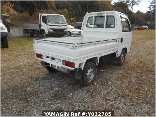 It is a picture of the white honda acty truck in 1996,Sub Photo 2 Stock No.Y032705