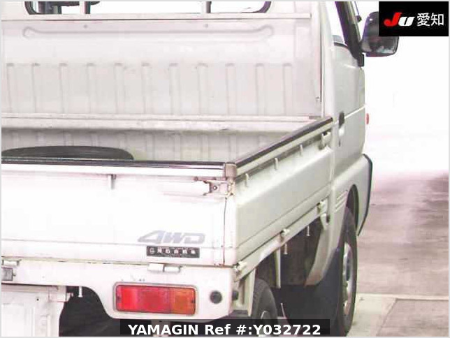 It is a picture of the white suzuki carry truck in 1995,Sub Photo 7 Stock No.Y032722