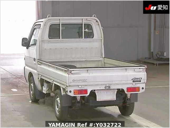 It is a picture of the white suzuki carry truck in 1995,Sub Photo 1 Stock No.Y032722