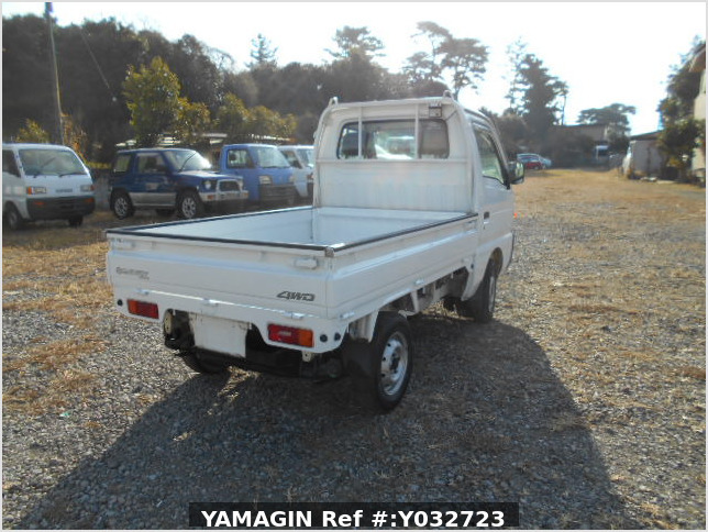 It is a picture of the white suzuki carry truck in 1996,Sub Photo 2 Stock No.Y032723