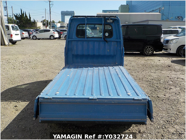 It is a picture of the blue daihatsu hijet truck in 1996,Sub Photo 4 Stock No.Y032724