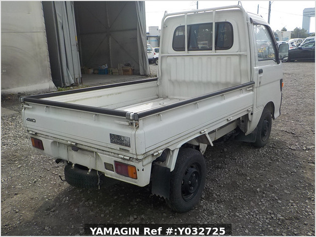 It is a picture of the white daihatsu hijet  truck in 1994,Sub Photo 2 Stock No.Y032725