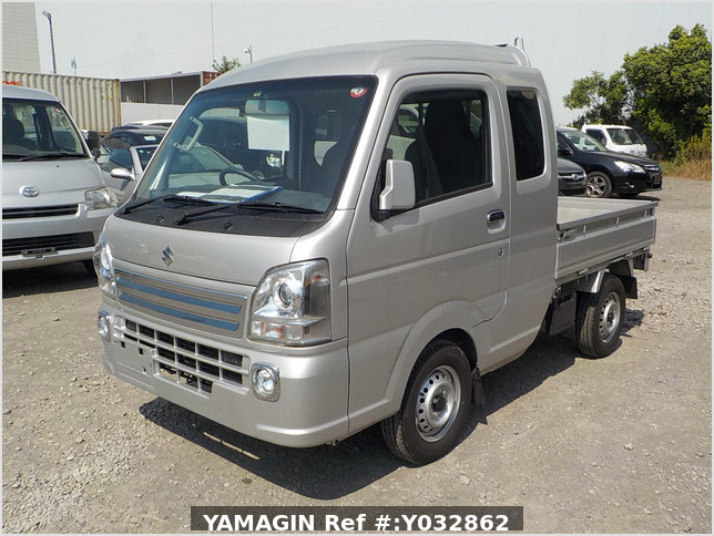 It is a picture of the silver suzuki carry jumbo in 2019,Sub Photo 1 Stock No.Y032862