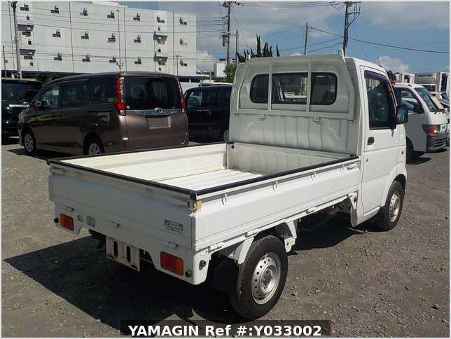 It is a picture of the white suzuki carry truck in 2010,Sub Photo 2 Stock No.Y033002