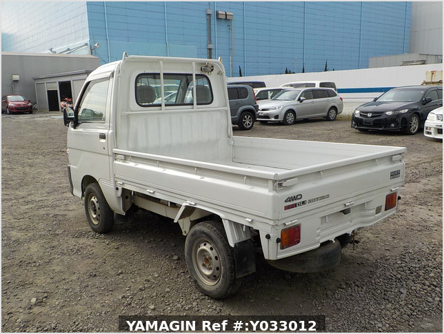 It is a picture of the white daihatsu hijet truck in 1999,Sub Photo 2 Stock No.Y033012