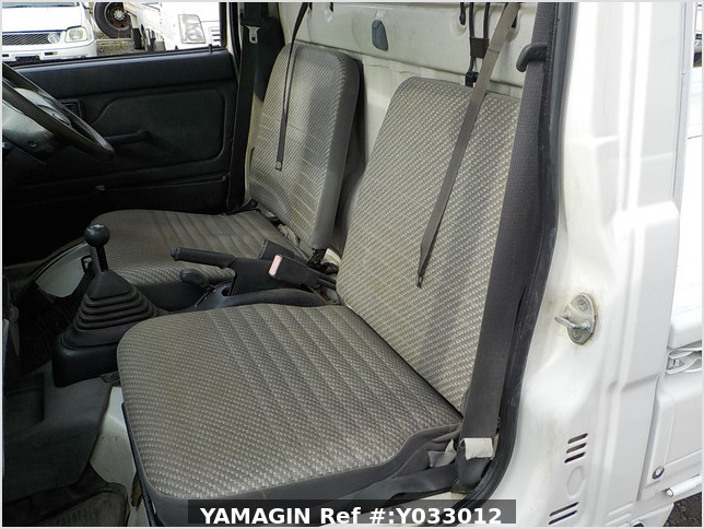 It is a picture of the white daihatsu hijet truck in 1999,Sub Photo 11 Stock No.Y033012