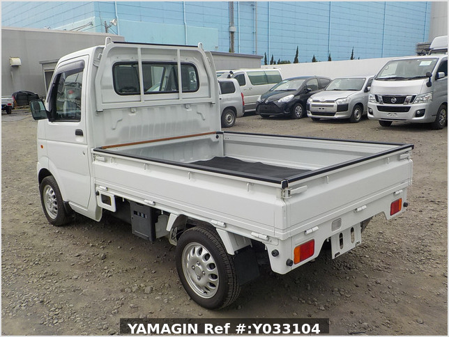 It is a picture of the white suzuki carry truck in 2010,Sub Photo 3 Stock No.Y033104