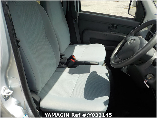 It is a picture of the silver daihatsu hijet passenger van in 2016,Sub Photo 11 Stock No.Y033145