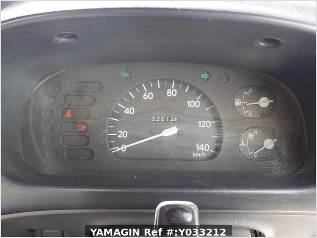It is a picture of the white daihatsu hijet  truck in 1995,Sub Photo 7 Stock No.Y033212