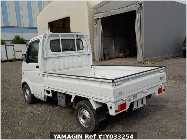 It is a picture of the white suzuki carry truck in 2008,Sub Photo 3 Stock No.Y033254