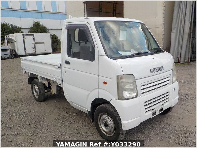 It is a picture of the white suzuki carry dump in 2003,Sub Photo 1 Stock No.Y033290