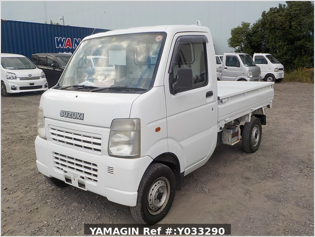 It is a picture of the white suzuki carry dump in 2003,Sub Photo 2 Stock No.Y033290