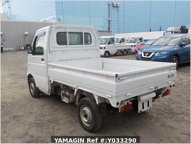 It is a picture of the white suzuki carry dump in 2003,Sub Photo 4 Stock No.Y033290