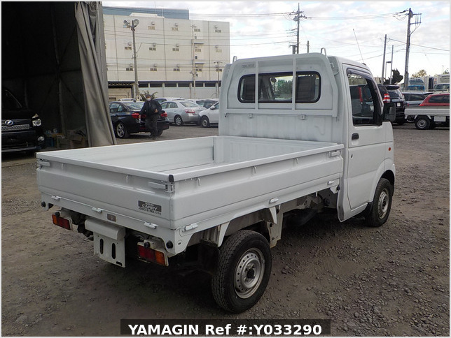 It is a picture of the white suzuki carry dump in 2003,Sub Photo 3 Stock No.Y033290