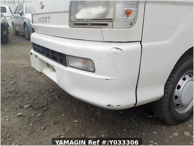 It is a picture of the white daihatsu hijet truck in 2000,Sub Photo 15 Stock No.Y033306